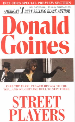 Street Players By Goines, Donald